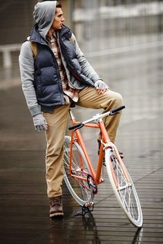 men styles, casual fall, bicycl, street styles, fall looks, men outfits, fall outfits, men fashion, man style