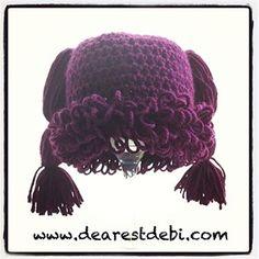 Cabbage Patch Kid Newborn Beanie - Media - Crochet Me