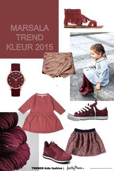 Marsala trend kleur