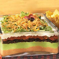 7-Layer Mexican Ranch Salad | MyRecipes.com
