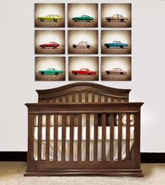 ON SALE Vintage Matchbox Cars, Set of Nine Photo prints, Nursery Decor, Rustic Decor Toy Cars, Baby room ideas, Boys Room Decor,