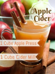 This seems like an appropriate Scentsy mixer recipe for September! And it's a YUMMY one!!! Apple Press + Cider Mill = Apple Cider #Scentsy #MixerMonday #ApplePress #CiderMill #addictedtoScentsy