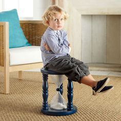 Time OUT...stool....