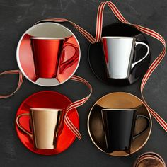 Demi Cup and Saucer Set, 3 fl oz. $27.95 at StarbucksStore.com