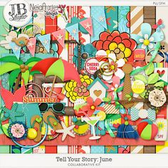 Tell Your Story - June Collab by JB Studio and Neia Arantes