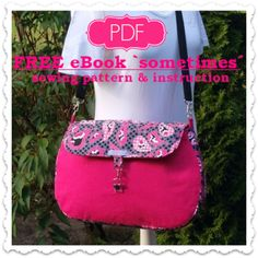 """The """"Sometimes"""" Bag – Free PDF eBook & Sewing Pattern + How to Choose the Right Needle with Wesen's Art and Wendy Gardiner"""