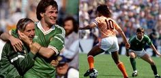 Ray Houghton's winner against England and Ronnie Whelan's acrobatic volley against Russia took the Republic of Ireland to the brink of qualification for the semi-finals until unlucky, late defeat to eventual winners Holland