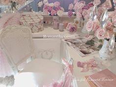 Romantik evim Romantik pastel büyüsüyle country tarzı ev dekorasyonu- Romantik dekor Pastel çalışma masası Romantik köşeler Romantik pembeler Pastel evler