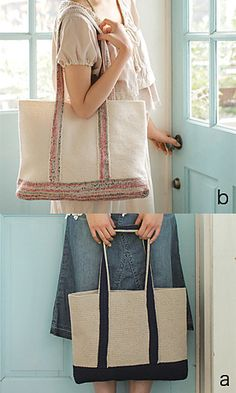 Cute Tote Bag: free pattern