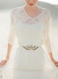 wedding dressses, style, weddings, the dress, white lace, light, art deco, lace dresses, belts