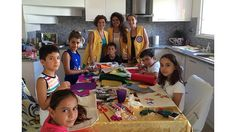 Lions in Turkey Do Crafts with Kids - http://lionsclubs.org/blog/2014/09/10/lions-in-turkey-do-crafts-with-kids/