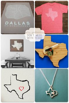 Etsy Wednesday – Don't Mess With Texas