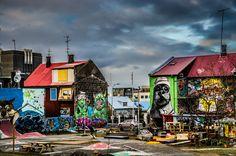 Street Art in Reykjavik ...