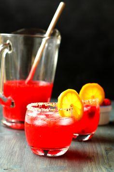 Raspberry Limoncello Lemonade | Cooks with Cocktails