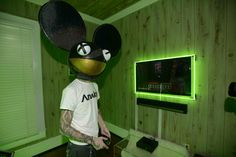 Sonos coolness personified by Sonos ambassador Deadmau5. #Bestof2013