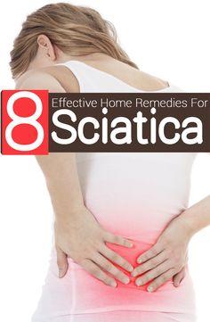 8 Effective Home Remedies For Sciatica