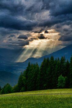 Mountain Storm, The Alps, Austria #austria #alps #visitaustria