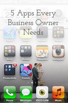 5 Apps Every Business Owner Needs