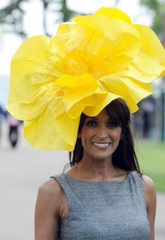 Yellow Royal Ascot Hat