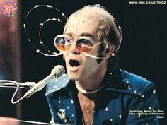 Elton John was a musical hit machine.
