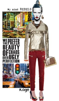 """My mind rebels"" by ajkc ❤ liked on Polyvore"