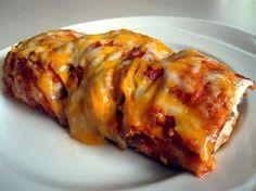 Chicken and Black Bean Enchiladas