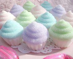 pastel ice cupcakes