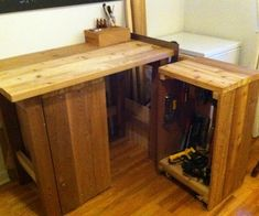DIY Apartment Workbench