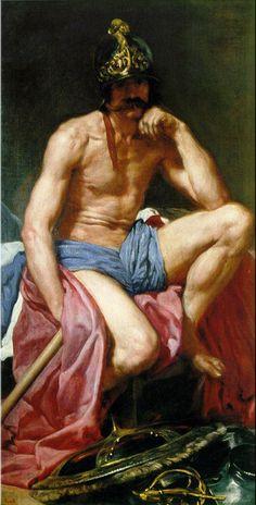 Mars, God of War - Diego Velasquez 1640