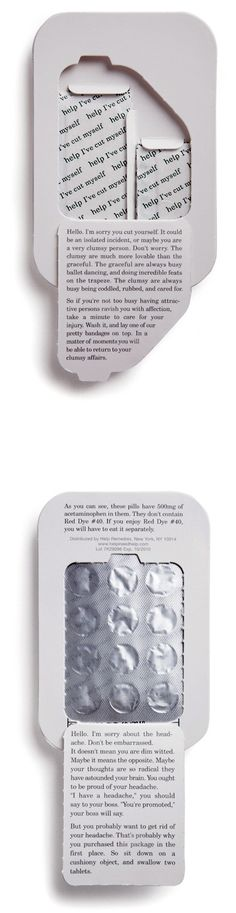 De-commoditizing products with clever copy and clever packaging