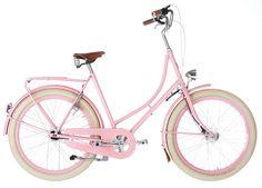 bicycles, pink bike, style, pink bicycl, en rose