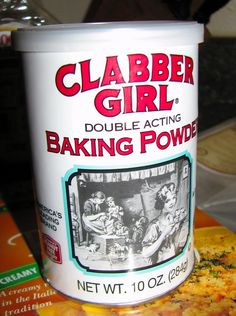 Make your own baking powder