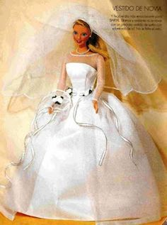 DIY Barbie Wedding Gown Pattern
