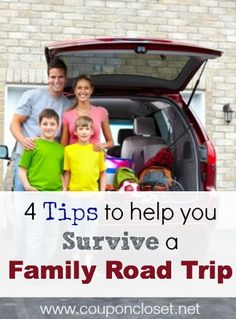 We love road trips, but with 4 kids it can be quite a challenge. Do road trips make your head spin?? Check out our tips on how we survive road trips each year.