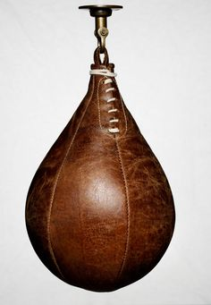 Leather boxing speed ball