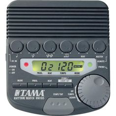 TAMA Click Track. Ability to save presets makes playing with a metronome a lot easier. $79
