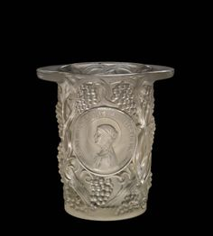 Clos Sainte-Odile (Saint Odile Vineyard) designed by by René #Lalique in 1927 | Corning Museum of Glass