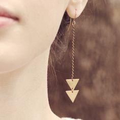 Arrow Earrings by (of)matter