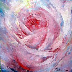 "Saatchi Online Artist Valeriy Budanov; Painting, ""Space rose"" #art"