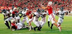 Nebraska wins with Hail Mary