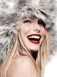 Lively smile
