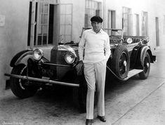 Al Jolson & his Mercedes