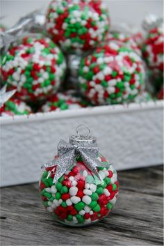 #Candy Filled #Ornaments