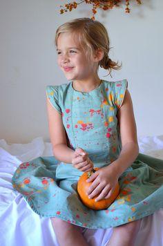 Bouquet in Duck Egg Dress // hungie gungie