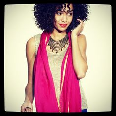 Scarf, necklace & tank from #markmarrakesh -Photo by mark_girl