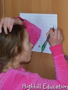 """Math Designed to Make Kids Think: """"I have posted several math problems designed to invoke thinking, on the refrigerator with out saying a word. The kids are enjoying it thoroughly. Each sheet remains up for 3-6 days while everyone has a chance to ponder, explore and write down their thoughts and solutions..."""""""