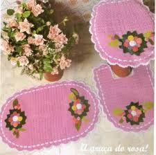 juego de baño en crochet -cute :) by gloria