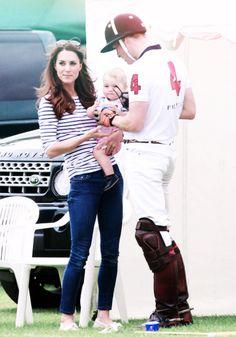 William, Catherine, and George