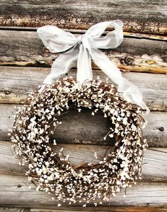 soft little wreath...