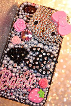 Hello Kitty IPhone case...which girl doesn't love Hello Kitty?